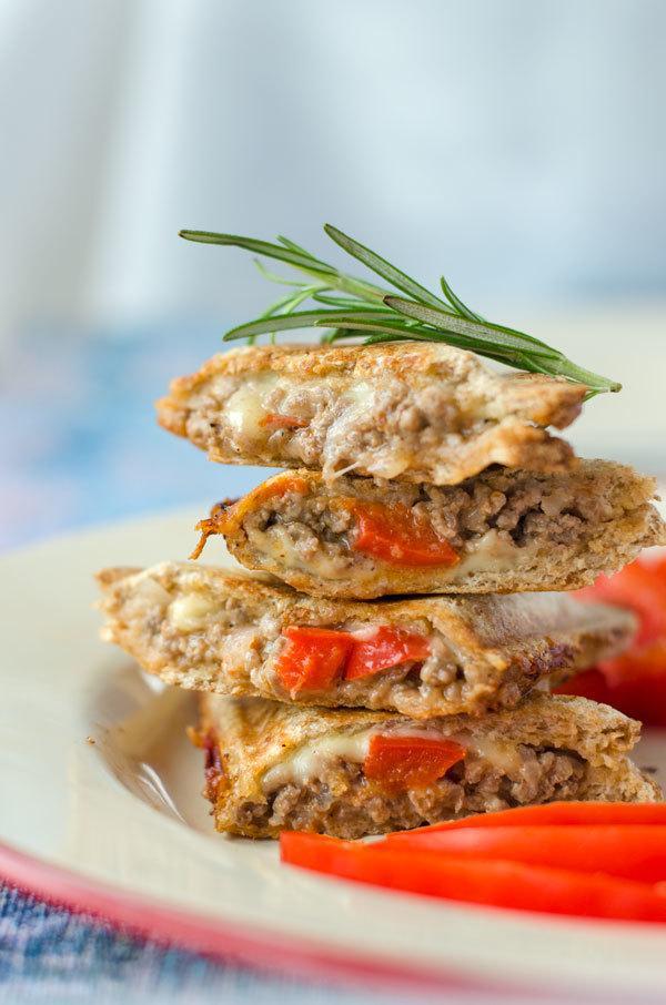 Rezept Feta-Paprika-Hackfleisch