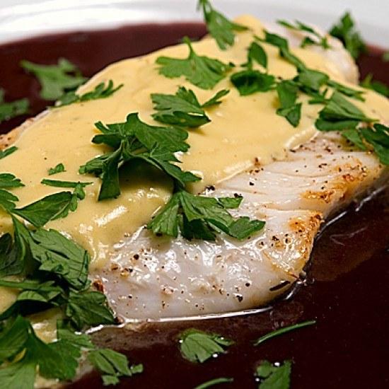 Rezept Filets de Saint-Pierre aux deux sauces