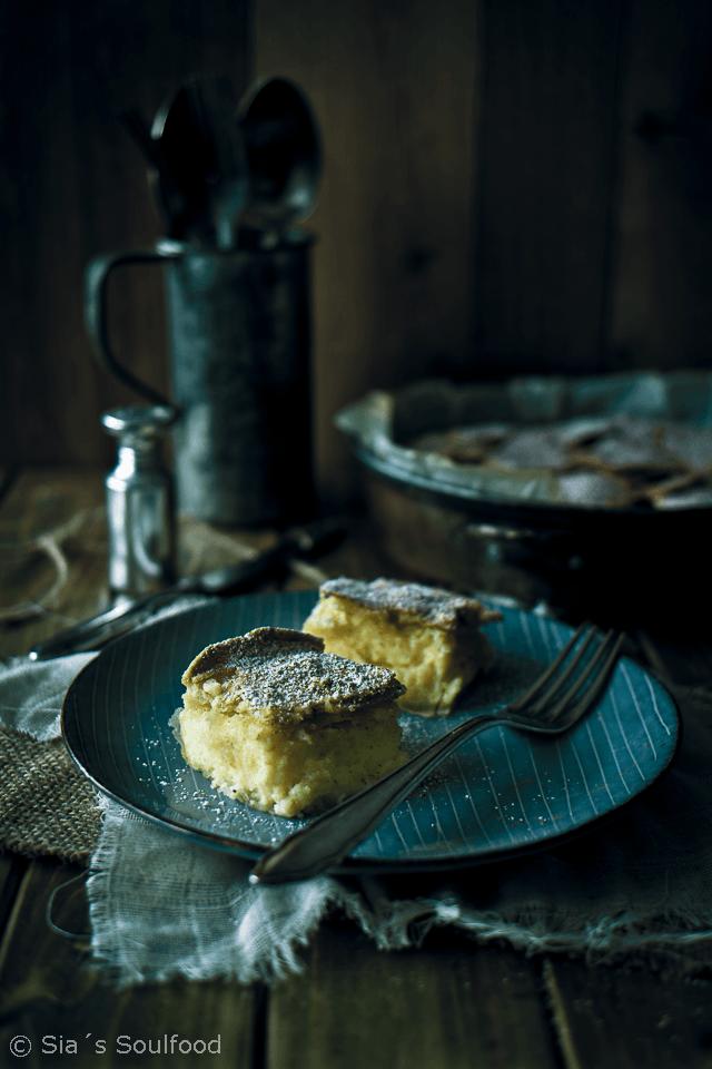Rezept Filoteig-Kuchen mit Vanillecreme (Mpougatsa)
