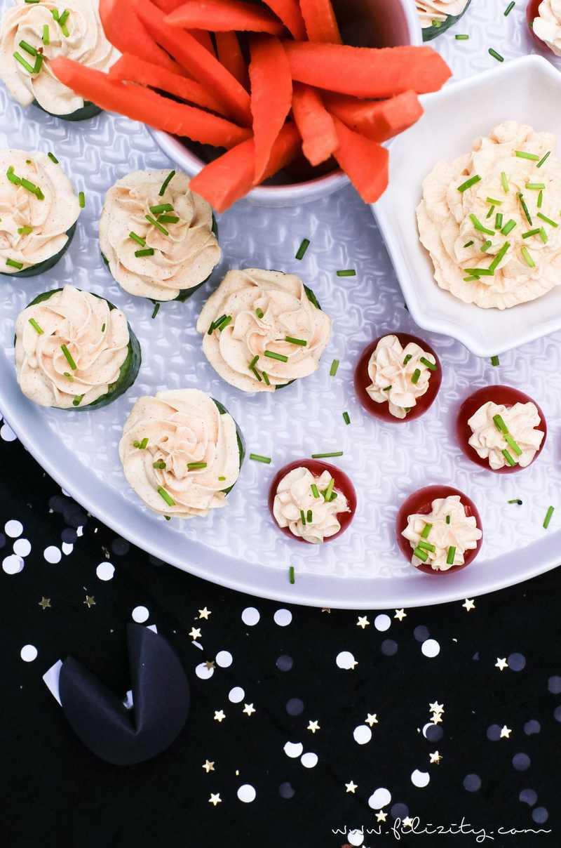 Rezept Fingerfood & Curry-Dip für's Party-Buffet