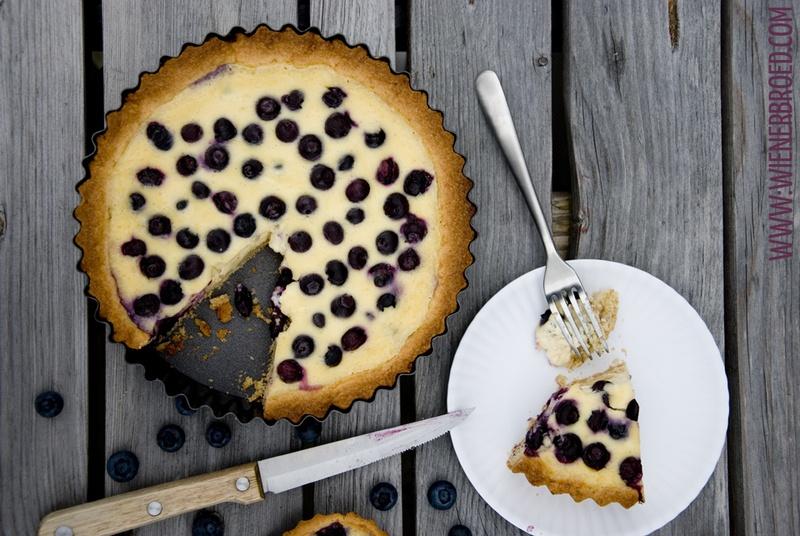 Rezept Finnische Blaubeer-Tarte