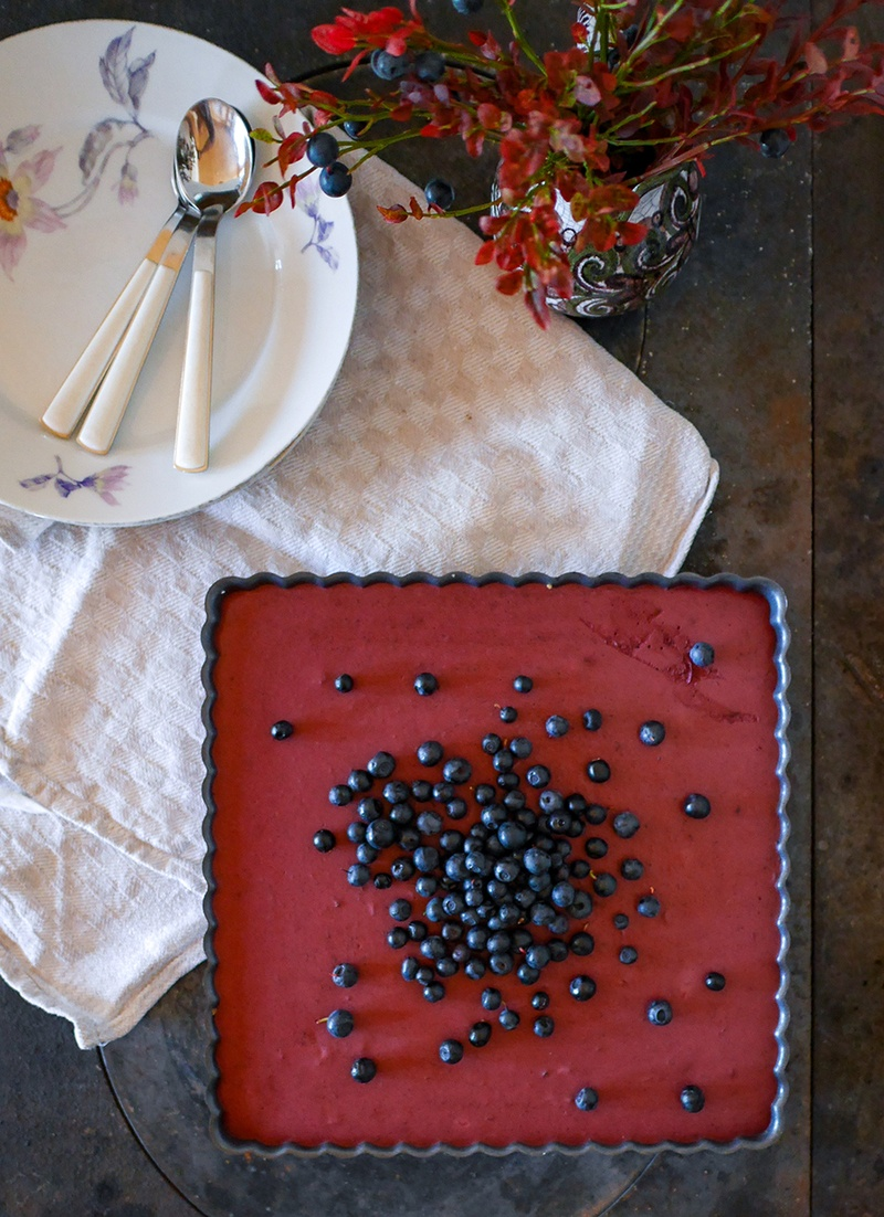 Rezept Finnischer Blaubeer-Cheesecake