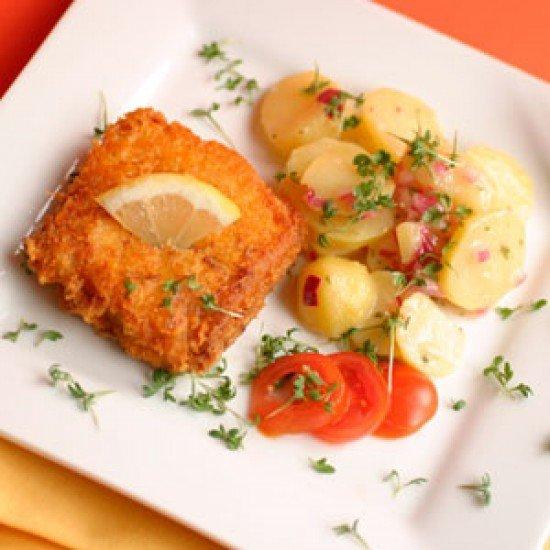 Rezept Fisch mit Parmesan-Kruste