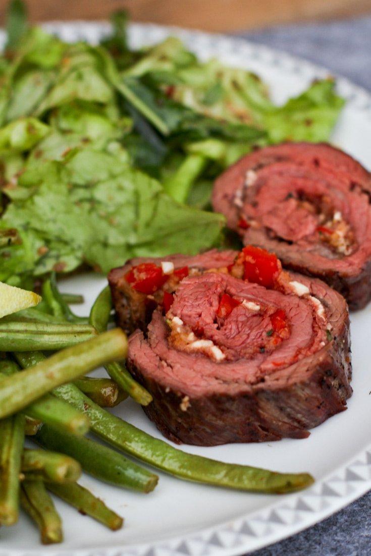 Rezept Flank Steak Rollbraten Rezept