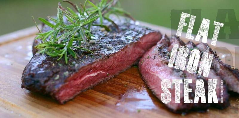 Rezept Flat Iron Steak mit Rosmarin und Olivenöl