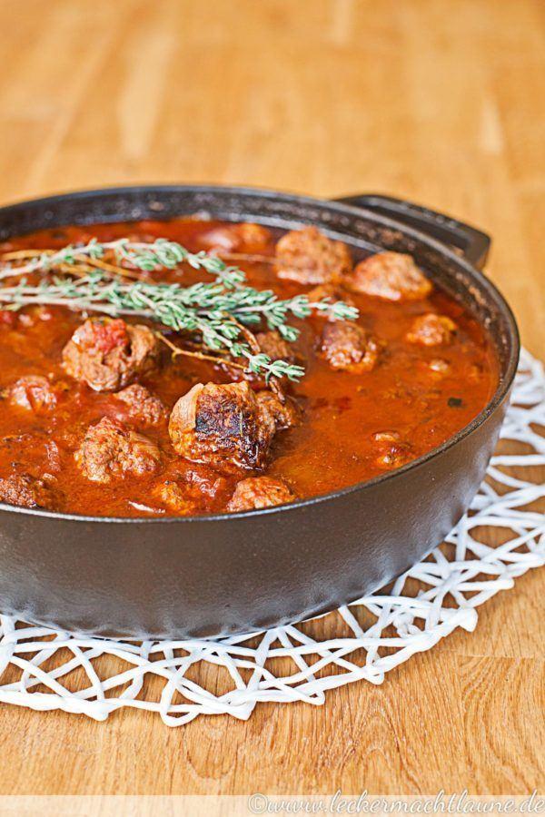 Rezept Fleischbällchen in Tomatensauce