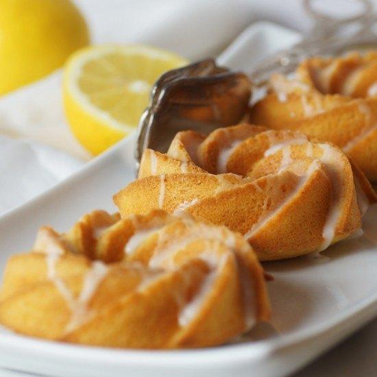 Rezept Fluffige Zitronenküchlein