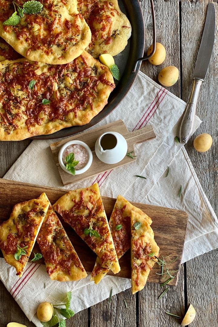 Rezept Focaccia di Patate con Mozzarella