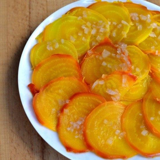 Rezept Fränkischer Gelbe Beete-Salat
