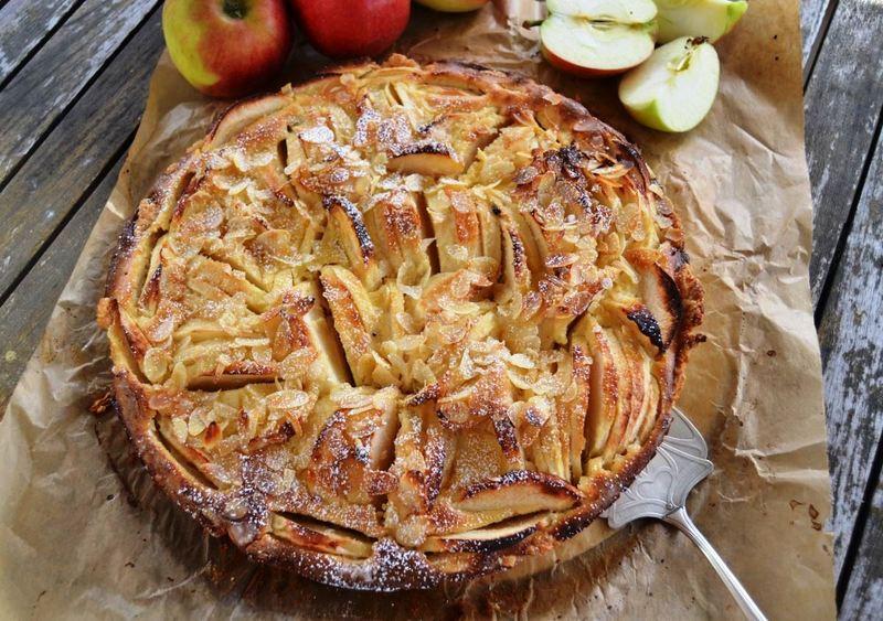 Rezept Französische Apfel Tarte mit Calvados