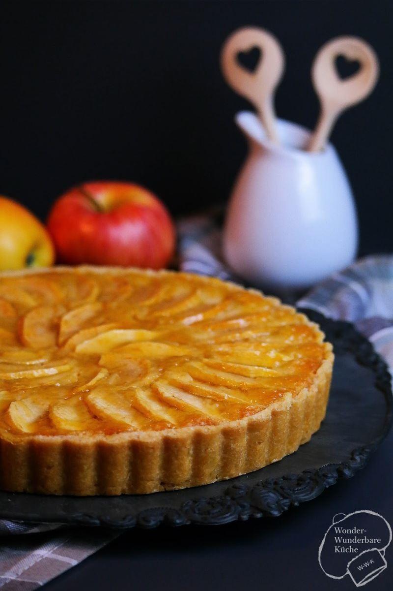 Rezept Französische Apfeltarte / Tarte aux pommes