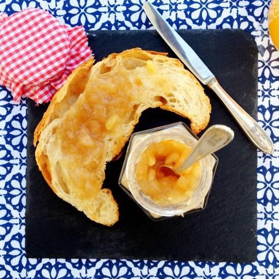 Rezept Französische Birnen-Konfitüre mit Pinienkernen und Bourbon-Vanille