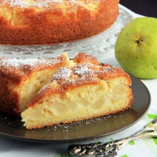 Rezept Französischer Birnenkuchen
