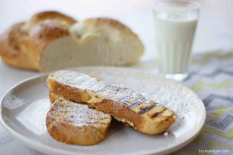 Rezept French Toast mit Zitrone