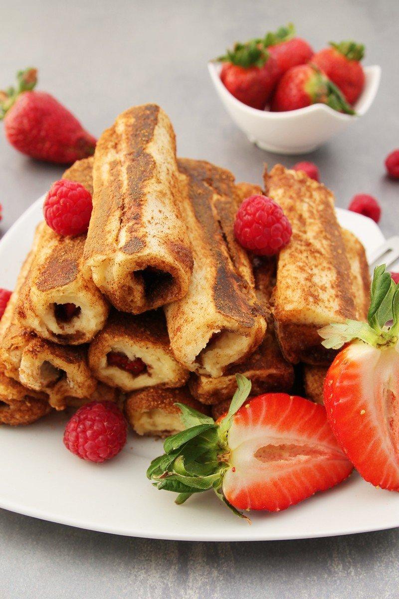 Rezept French Toast Roll Ups