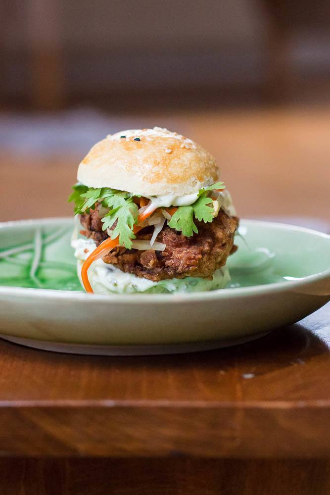 Rezept Fried Chicken Burger Sous Vide