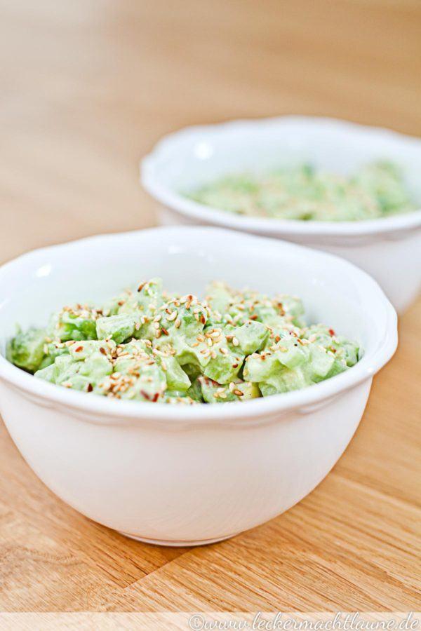 Rezept Frischer Gurken-Avocado-Salat