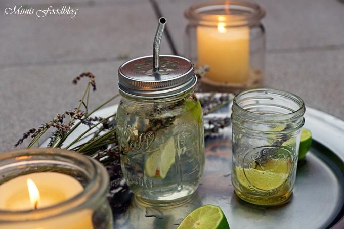 Rezept Frischer Limetten-Lavendel-Tee