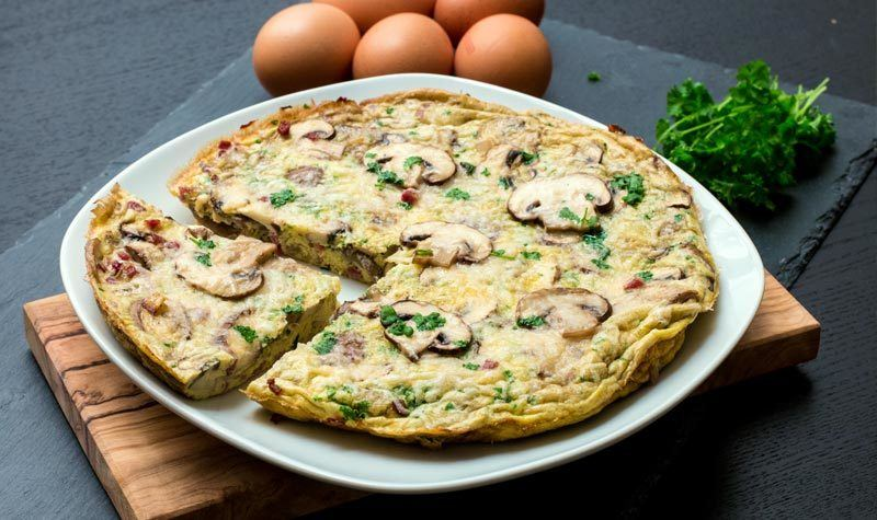 Rezept Frittata mit Pilzen