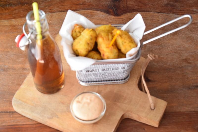 Rezept Frittierte Kartoffelbällchen mit Tiroler Sauce