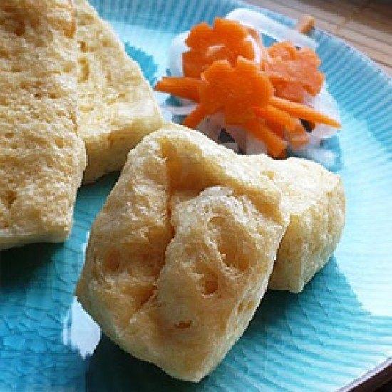 Rezept Frittierte Tofu-Puffs