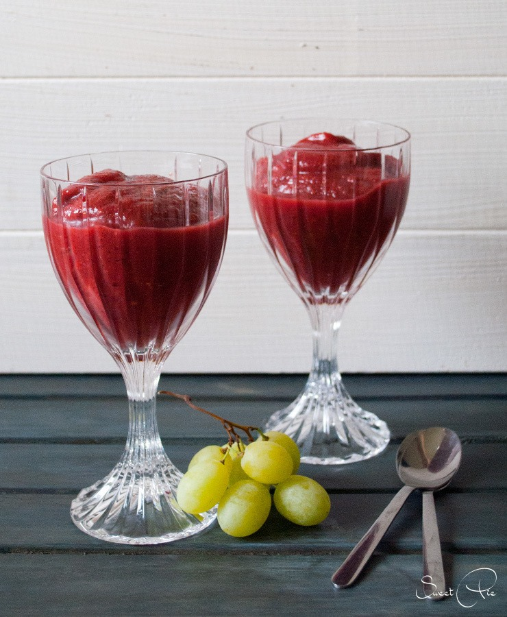 Rezept Frozen Berry Smoothie