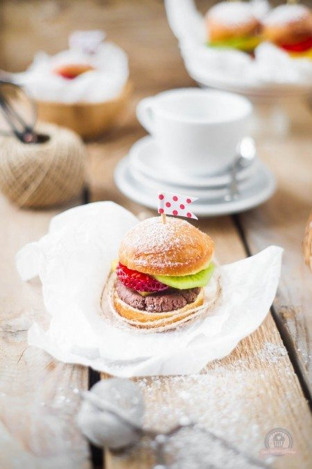 Rezept Früchte Burger