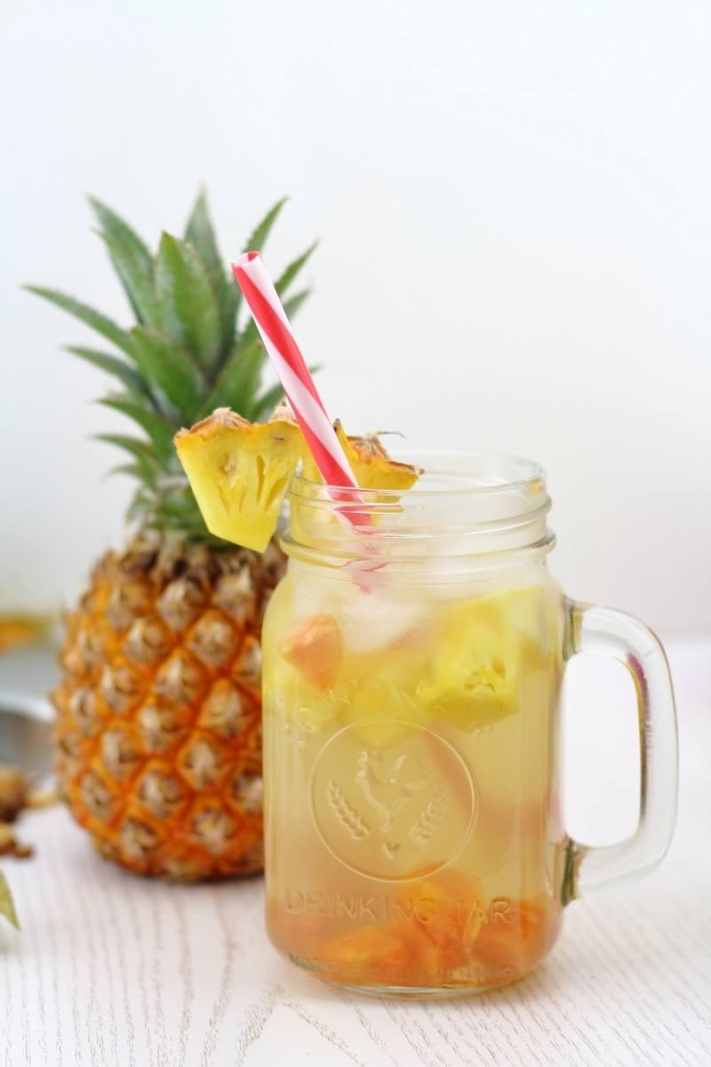 Rezept Fruchtig-Erfrischender Eistee