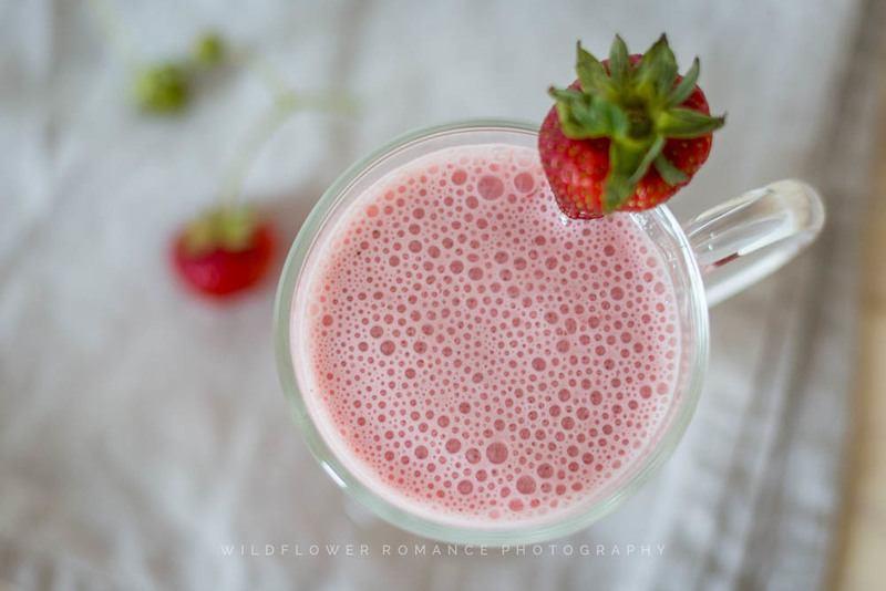 Rezept Fruchtig leichter Erdbeer-Smoothie