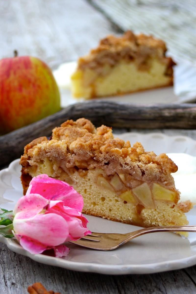 Rezept Fruchtig-zimtiger Apfel-Streuselkuchen