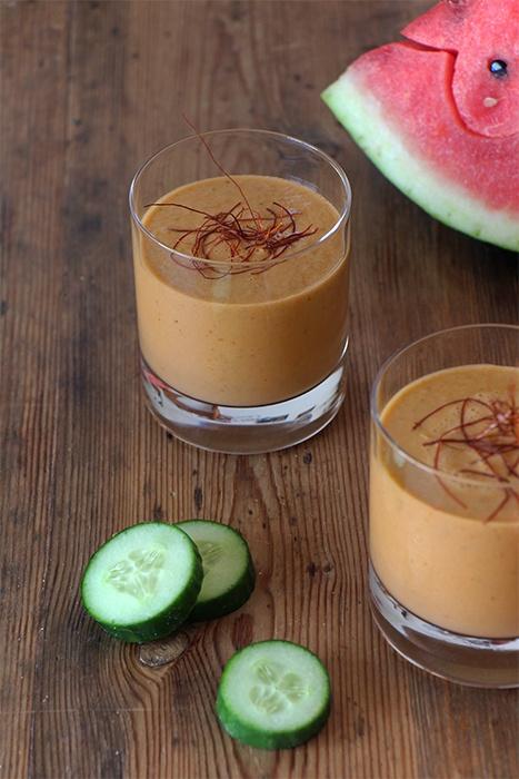 Rezept Fruchtige Gazpacho mit Wassermelone