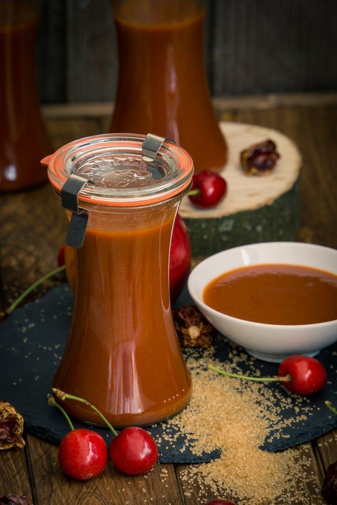 Rezept Fruchtige Kirsch-BBQ-Sauce