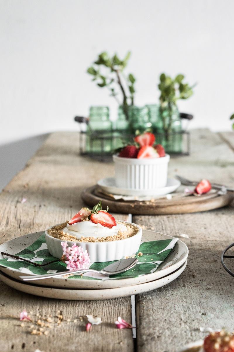 Rezept Frühlingstarte mit Erdbeeren