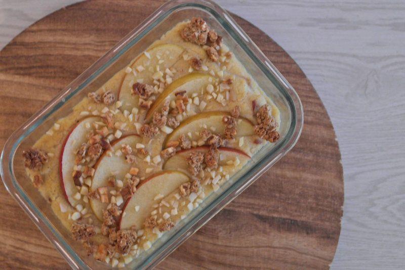 Rezept Frühstückspolenta mit Apfel