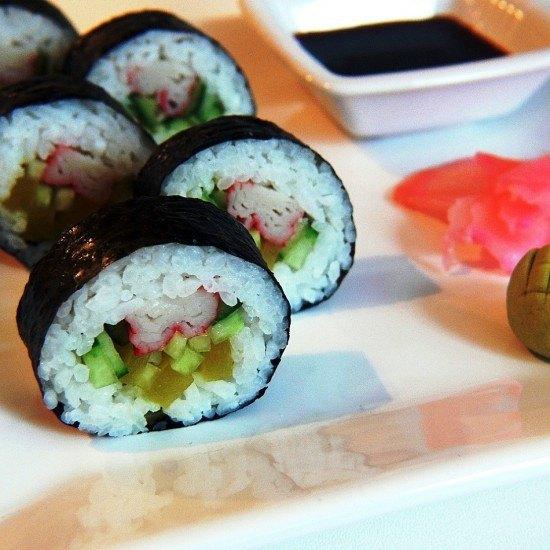 Rezept Futo Maki Sushi