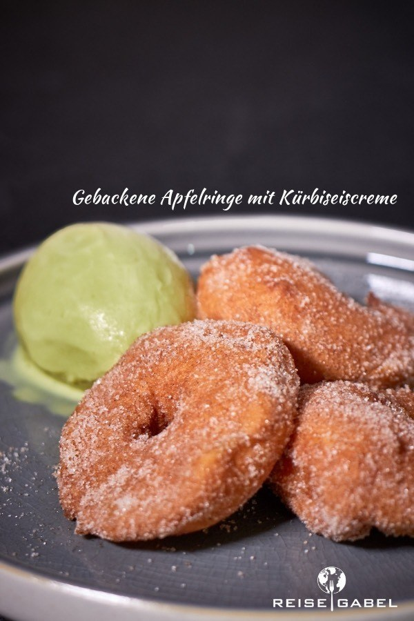 Rezept Gebackene Apfelringe