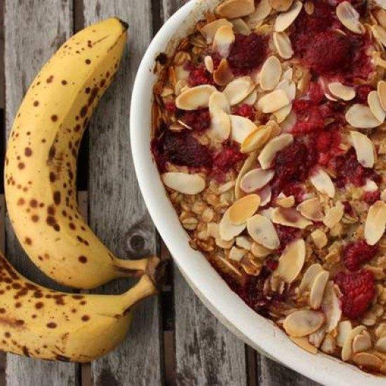 Rezept Gebackene Haferflocken mit Beeren