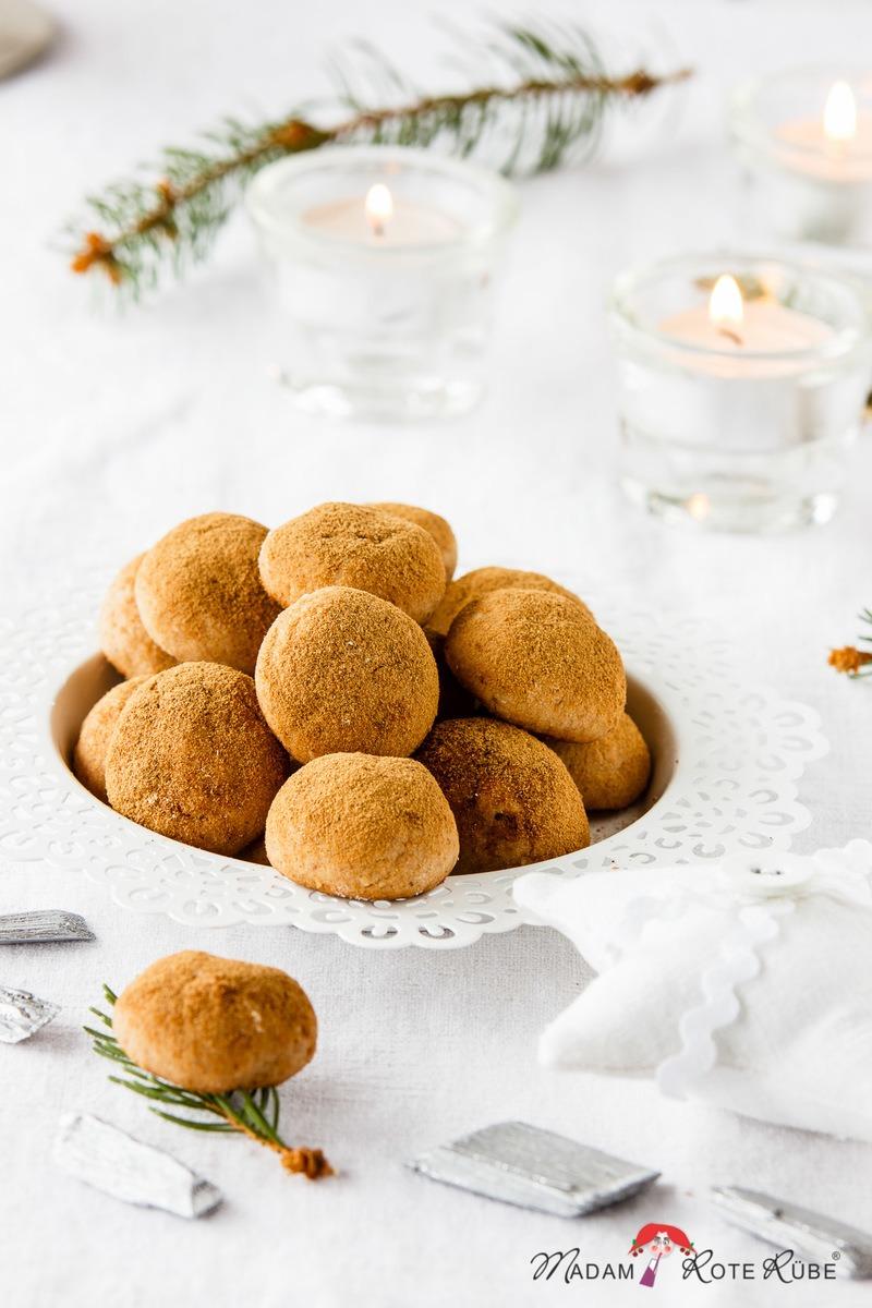 Rezept Gebackene Marzipan-Kartoffel-Plätzchen