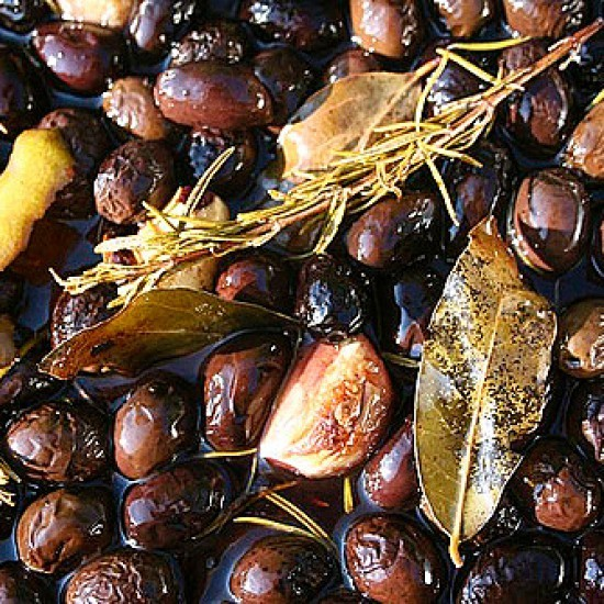 Rezept Gebackene Oliven