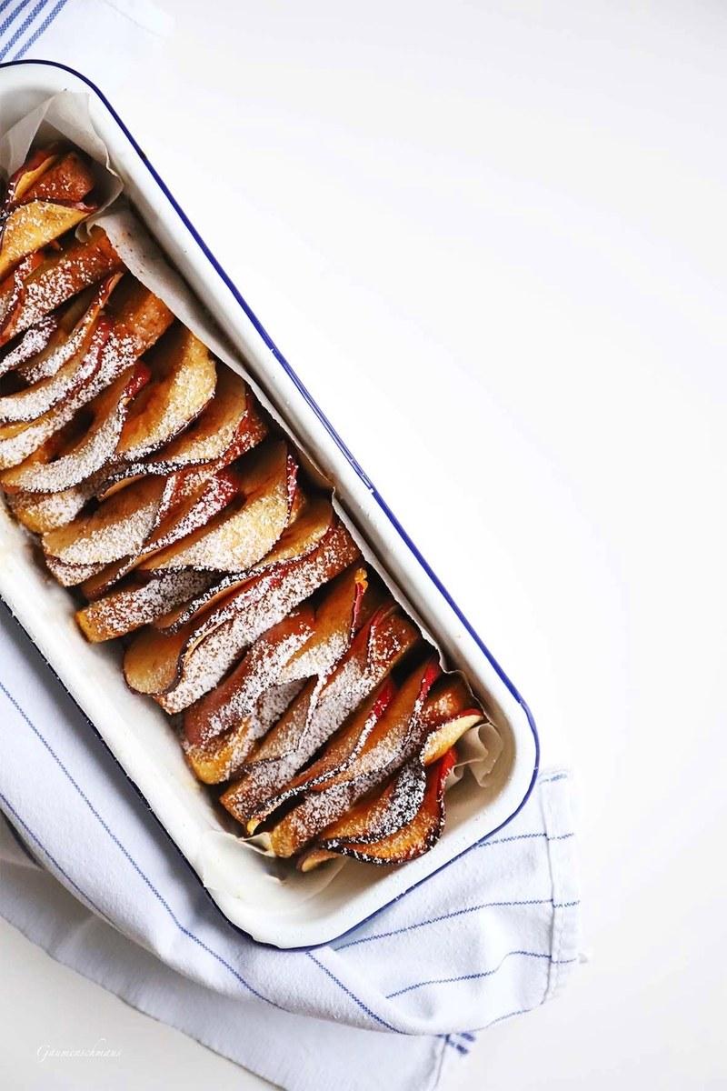Rezept Gebackener Apfel-French-Toast