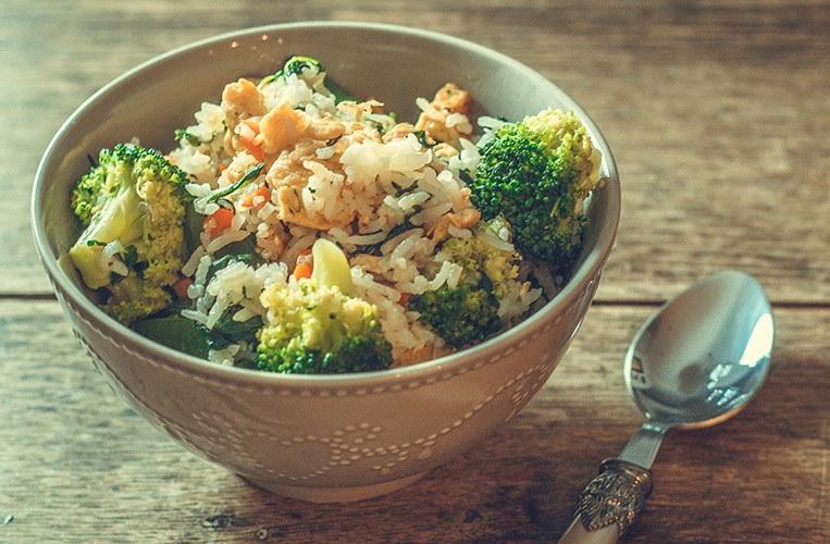 Rezept Gebratener Reis mit Gemüse