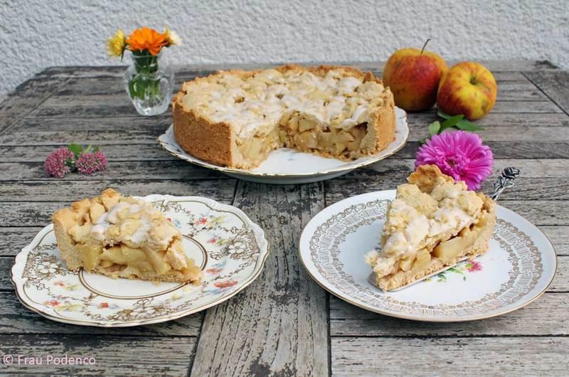 Rezept Gedeckter Apfelkuchen
