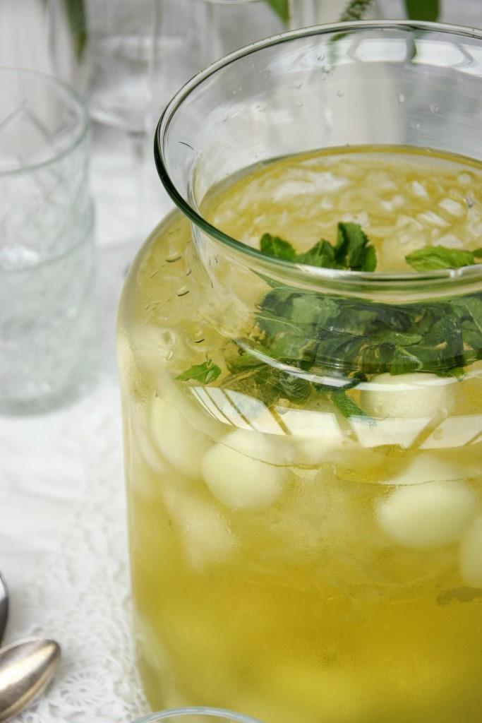 Rezept Geeiste Melonen-Bowle mit Limoncello