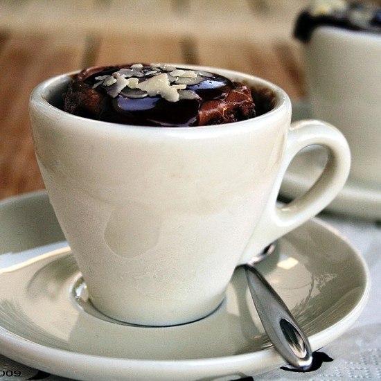Rezept Geeistes Schokoladen-Espresso-Soufflé