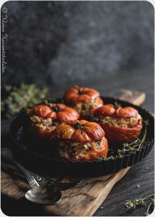 Rezept Gefüllte Tomaten mit Reis
