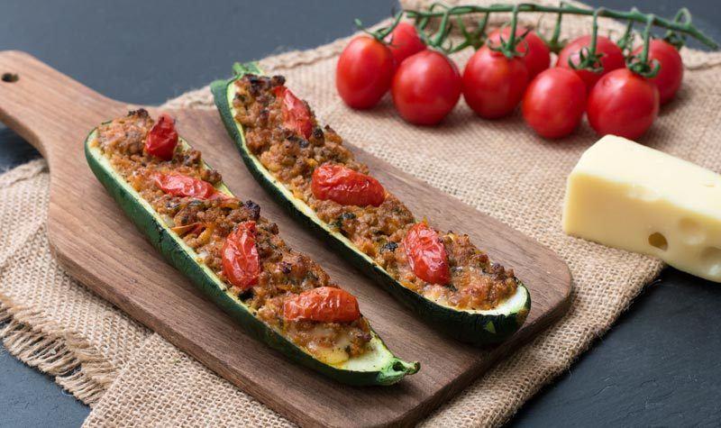 Rezept Gefüllte Zucchini mit Hackfleisch