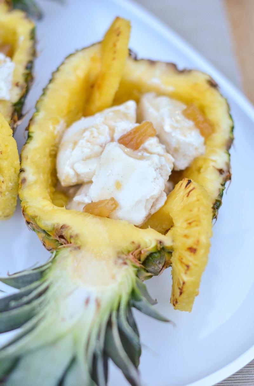 Rezept Gegrillte Ananas