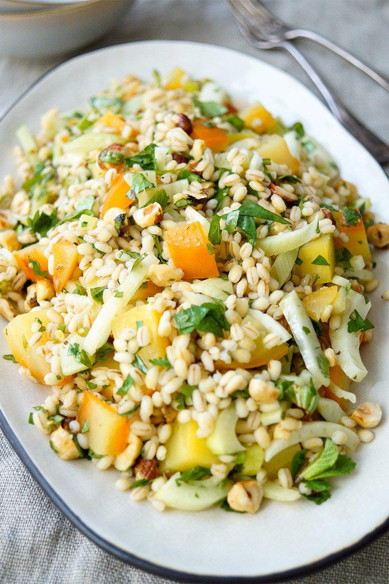 Rezept Gelbe Bete Salat mit Rollgerste