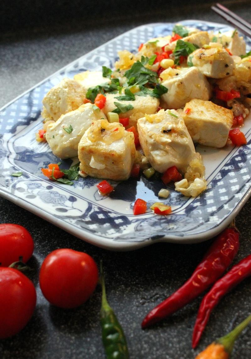 Rezept Gemuese Tofu