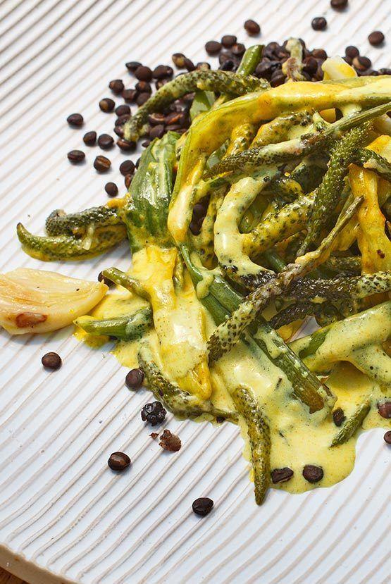 Rezept Gemüse aus Breitwegerichblüten